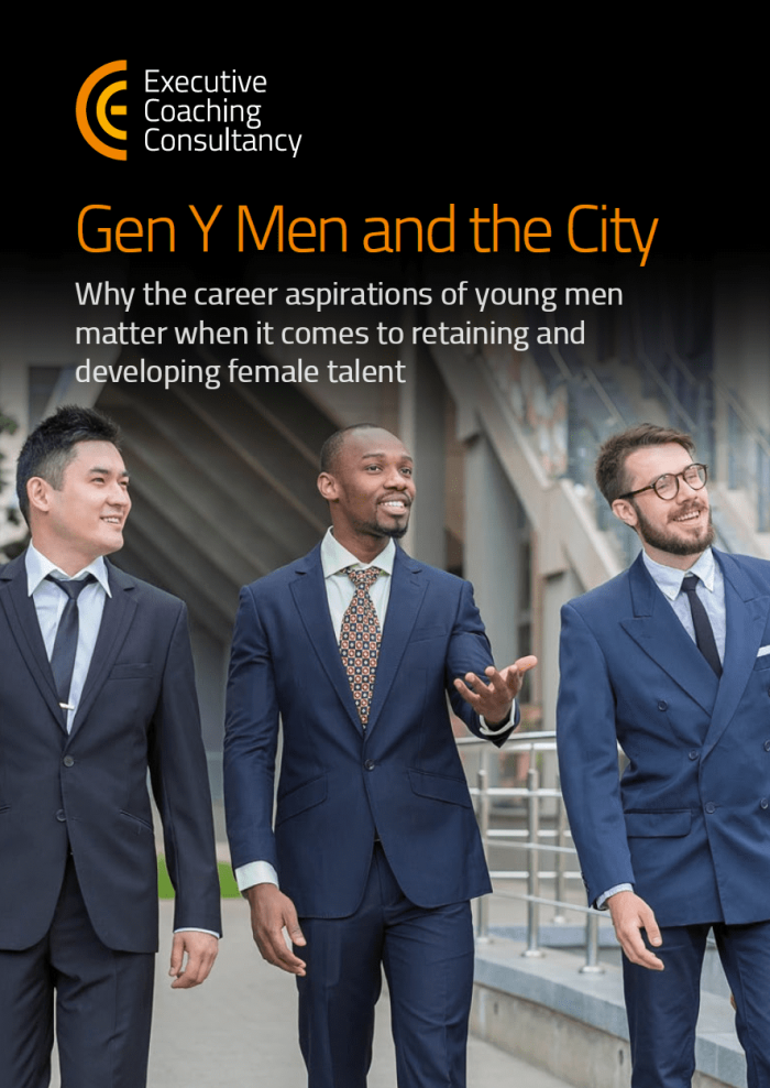 Gen Y Men and the City- Research