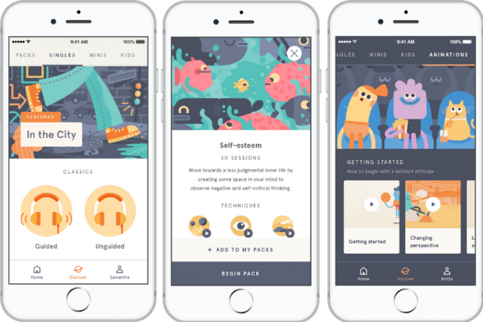 Headspace App- Best apps and tools to protect your mental health at work