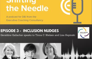 Podcast: Geraldine Gallacher and Inclusion Nudges